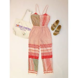 Indo-western Style Sheer Jumpsuit